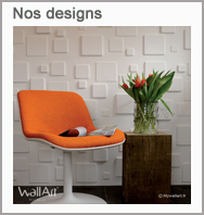 Revetement mural : les designs